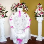 White Guest of Honor Chair